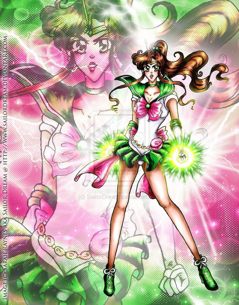 Sailor Jupiter by ~SailorDream on deviantART