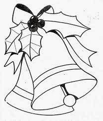 Blog De Los Ninos Mas Dibujos De Navidad Para Colorear Campanas De Navidad Dibujo Navidad Para Colorear Figuras De Navidad