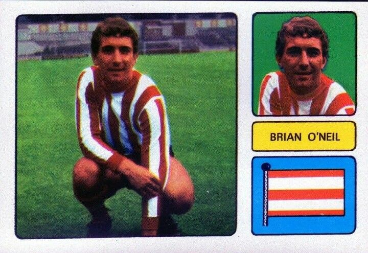 Brian O'Neil of Southampton in 1973.