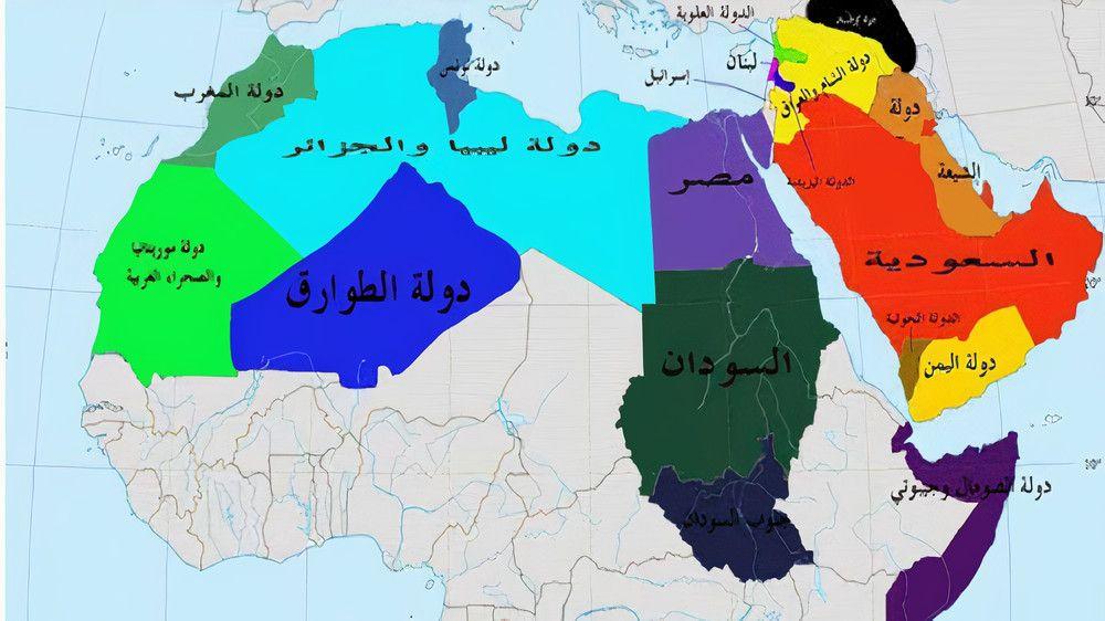 التقسيم سيطال السعودية وتفكيكها إلى دويلات محلل سياسي روسي يفجر مفاجأة مدوية ويكشف عن مخطط إعادة ترسيم حدود هذه الدول العربية ويعلن ال Website Map Character