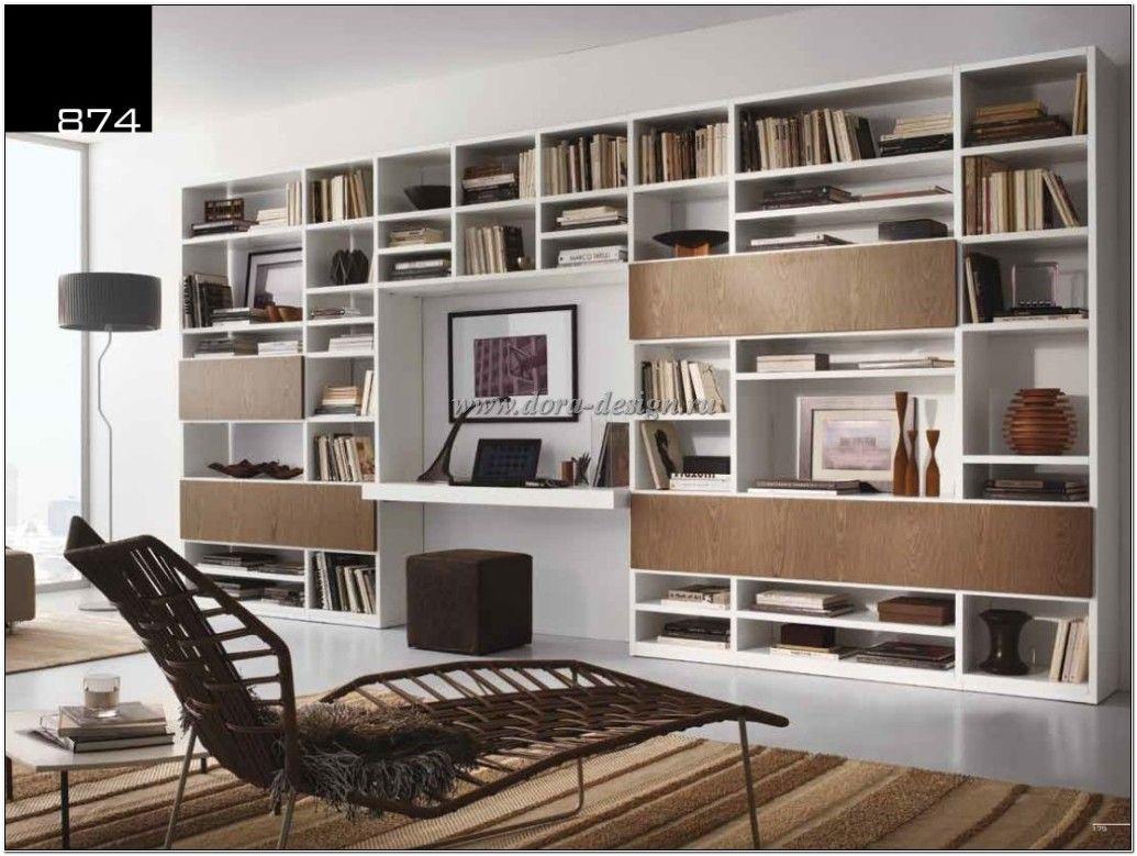 стеллаж открытый для гостиной в стиле модерн Tumidei италия