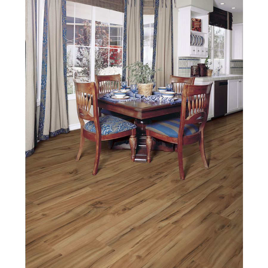 Shop Style Selections 7.6-in W X 4.23-ft L Natural Acacia