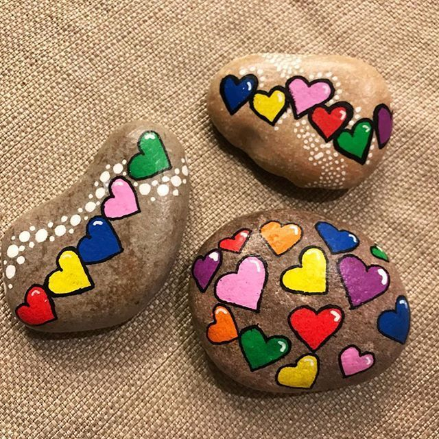 Photo of Login #felsenundsteine #kindnessrocks #RSrocks #valentinesday