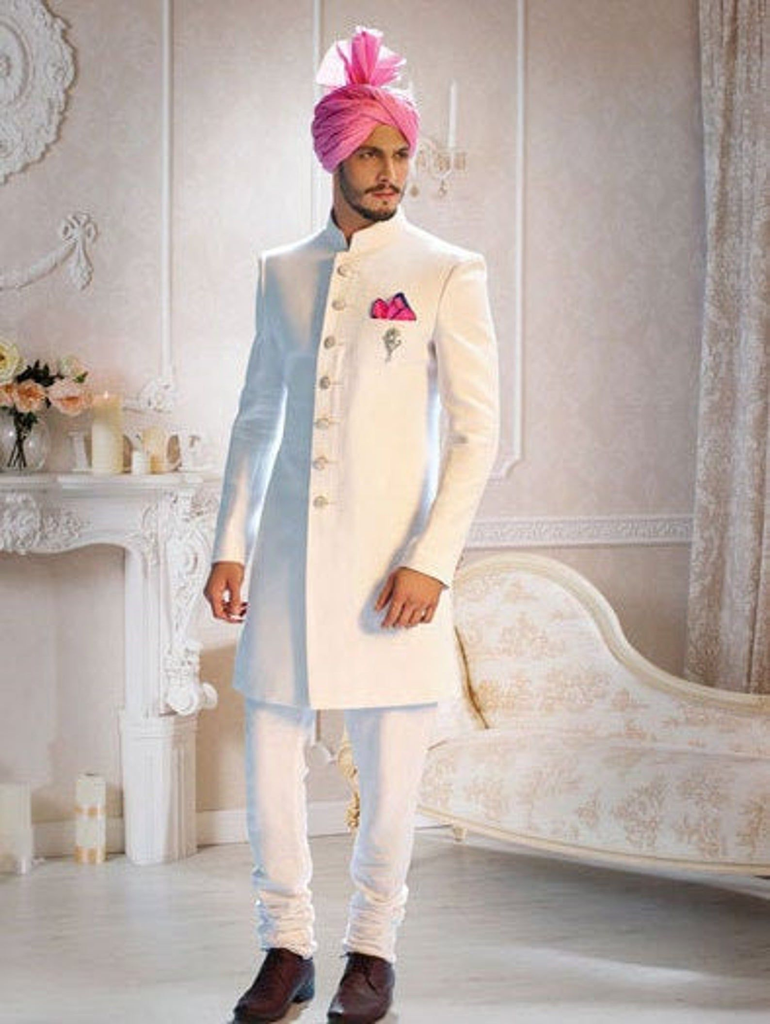 Indian Wedding Dress That Every Groom Will Ever Want For The Etsy Wedding Dresses Men Indian Groom Dress Men Indian Groom Wear [ 2112 x 1588 Pixel ]