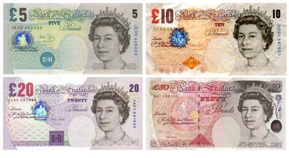 Moneda En Londres Monedas Billetes Y Dinero En Londres Libra Esterlina Billetes Historia De La Moneda