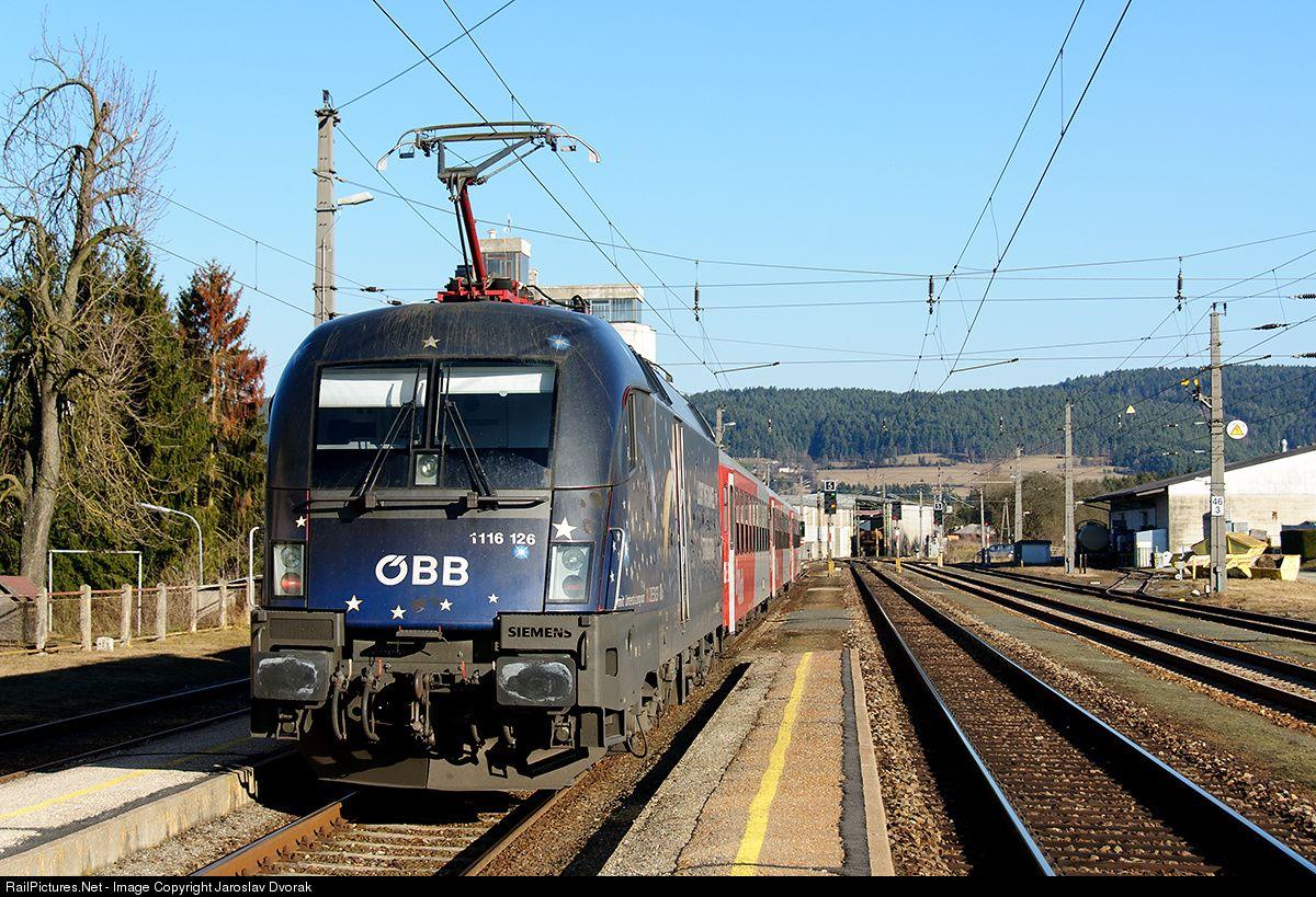 RailPictures.Net Photo: ÖBB 1116 126 Austria Federal Railways (ÖBB) ÖBB 1116 at Freistadt, Austria by Jaroslav Dvorak