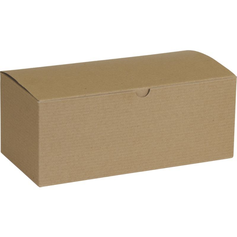 Kraft One Piece Gift Boxes 10 X 5 X 4 Retail Gift Gifts Bulk Gift Boxes