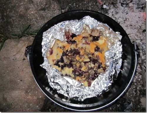 Dutch oven recipes cobbler cake mix