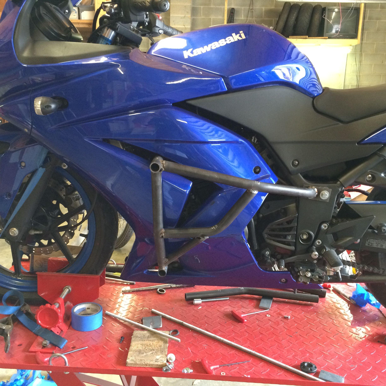 ninja 250 crashcage | Stunt Product | Kawasaki ninja 250r