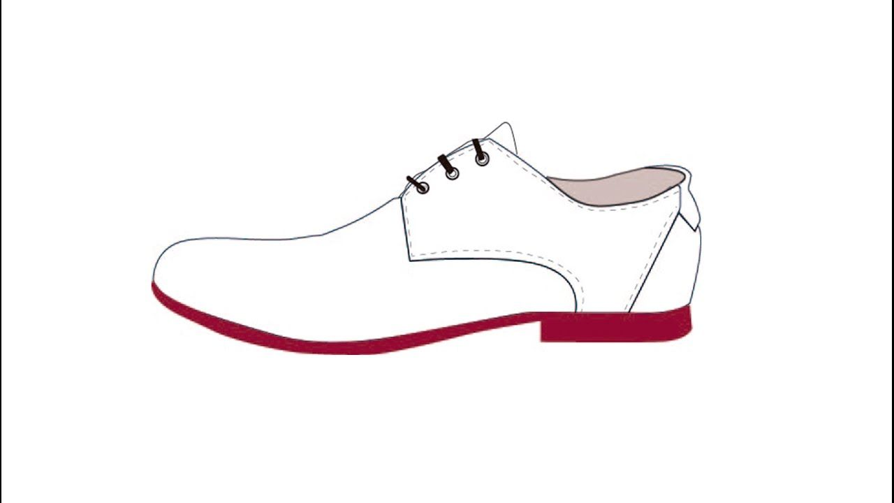 Pin On Mis Tutoriales De Dibujo Y Diseno De Zapatos De Hombre