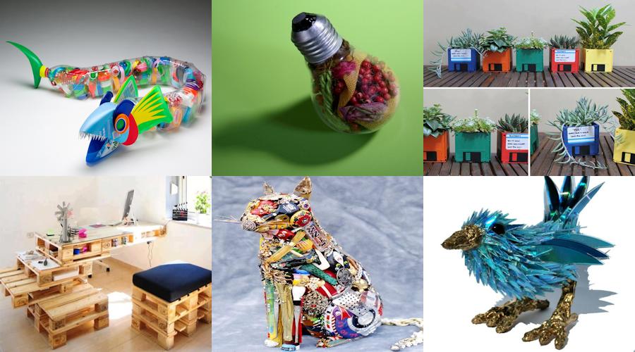 Il #riciclo #creativo è #facile, #divertente e #istruttivo: ecco come #riciclare varie #cianfrusaglie... #fantasia #creatività #idee  SCOPRI: http://www.tuttogreen.it/riciclo-creativo-la-guida-completa/