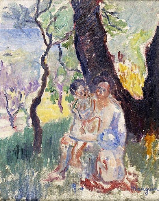 Jeanne et ses fils, 1905 / Manguin