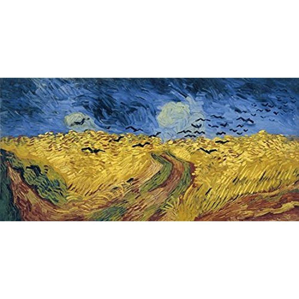 Framed Wheatfield by Van Gogh Giclee Art Large Canvas Painting ...