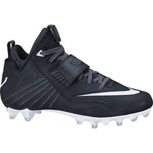 Nike Men's Calvin Johnson Elite 2 TD Football Cleat - Black