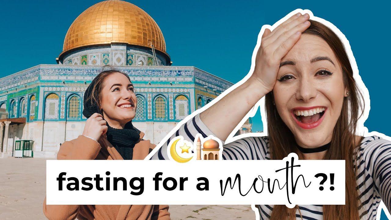 Fasting Ramadan For The First Time 🕌 | Sabina Trojanova