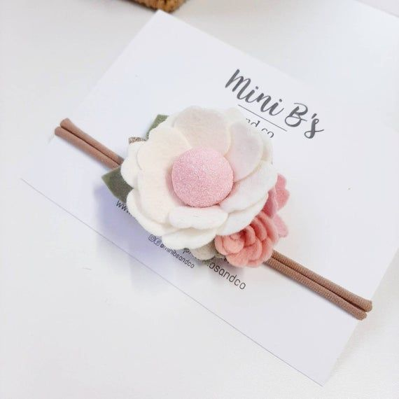 Felt flower headband, flower headband, baby headbands, newborn headband, baby photo prop, newborn photo props, felt headband, felt flowers, #feltflowerheadbands Felt flower headband, flower headband, baby headbands, newborn headband, baby photo prop, newborn ph #feltflowerheadbands
