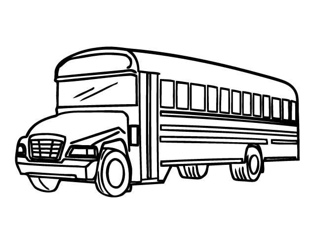 Printable School Bus Coloring Page For Free Coloring Pages