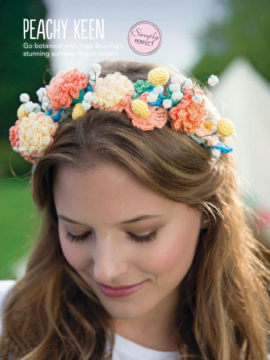 Simply crochet issue 19 2014 | Pinterest | Stricken und häkeln, Hüte ...