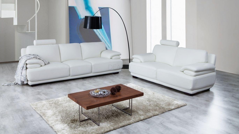 Juliet Leather Sofa Suite 3 + 2 - Lounge Life