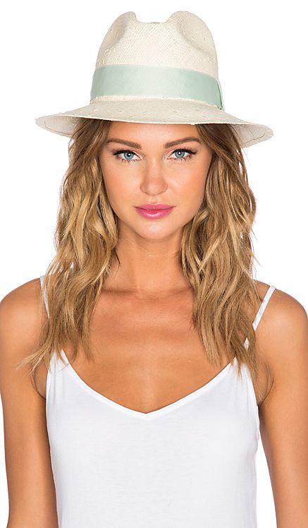 Artesano Clasico Hat in Natural Knots & Sage