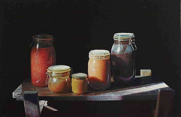 Renzo Rapacioli. Oil on linen