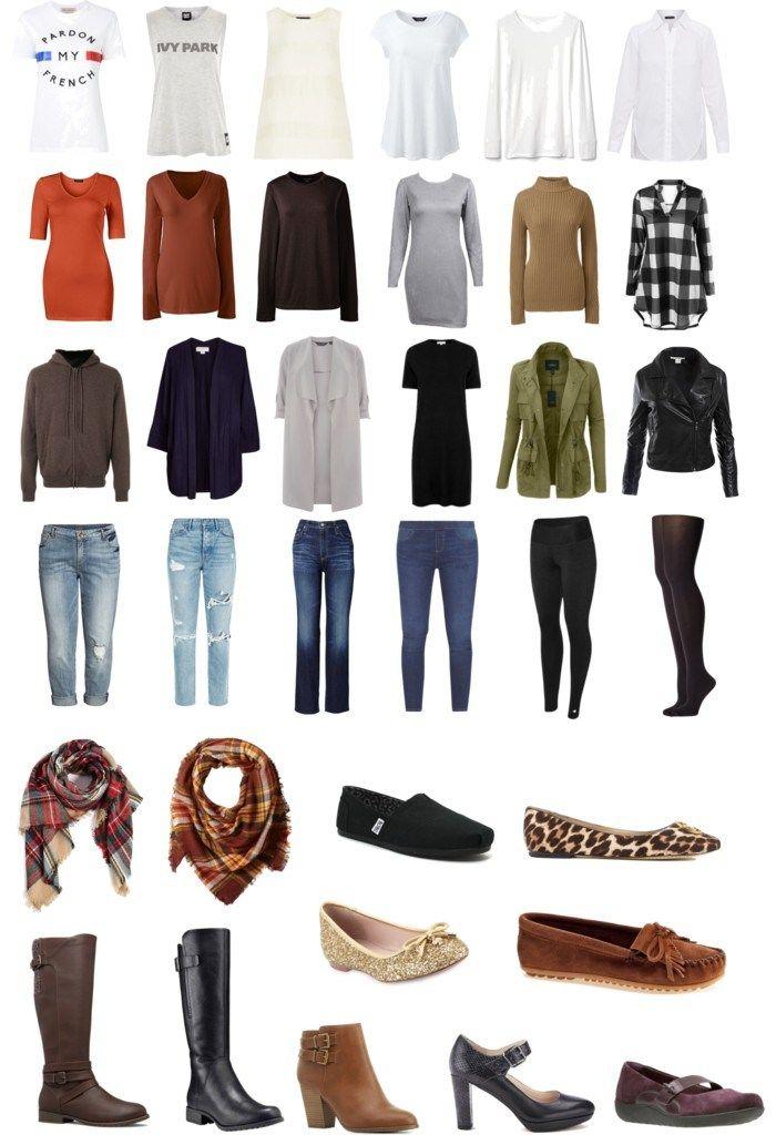 Fall 2017 Plus-Size Capsule Wardrobe