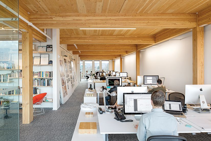 In Portland Oregon Where Locavores Rule The New Albina Yardnbspoffice Building By LEVER Architecture Showcases Regional Materials And Innovative