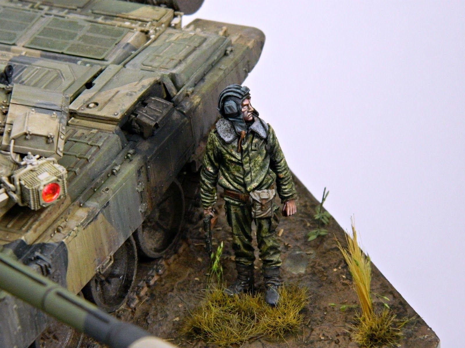 T-90A tank | #Scale_model 1/35| #diorama