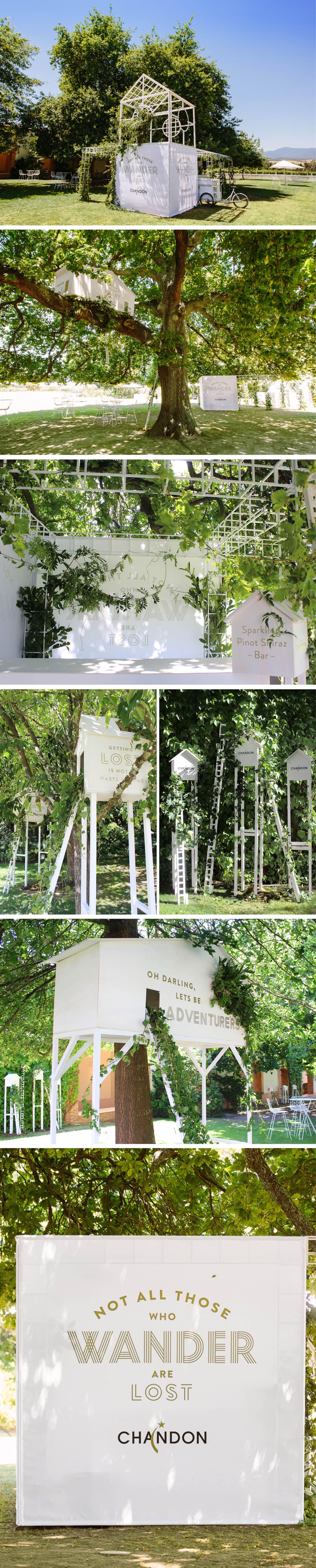Chandon 'Secret Garden Party'   Yarra Valley   Gloss Creative