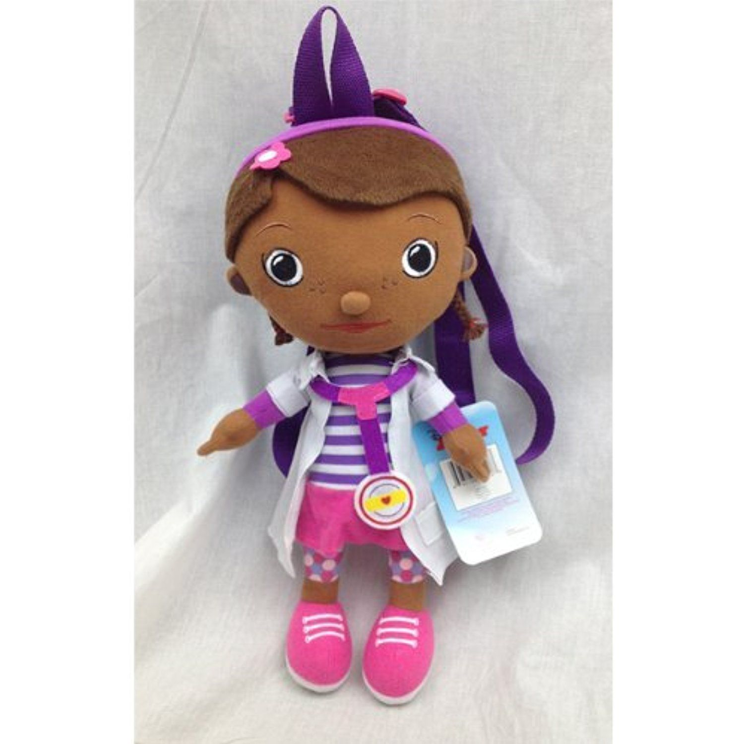a2bcd76636e Disney Doc Mcstuffins Toddler Plush Backpack 16 Inch Doll   Find out more  about the great
