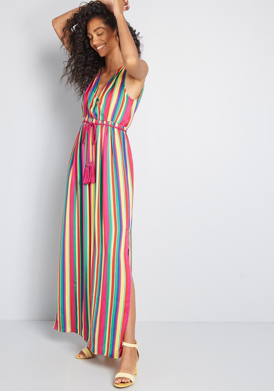 Styled In Vibrance Striped Maxi Dress Striped Maxi Dresses Maxi Dress Striped Maxi [ 1304 x 913 Pixel ]