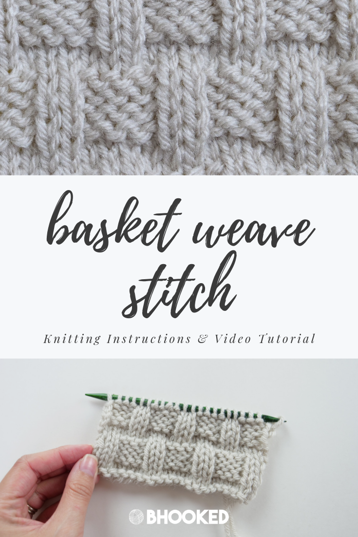 How To Knit A Simple Basket Weave Knitti Knitting - Knitting Tutorial