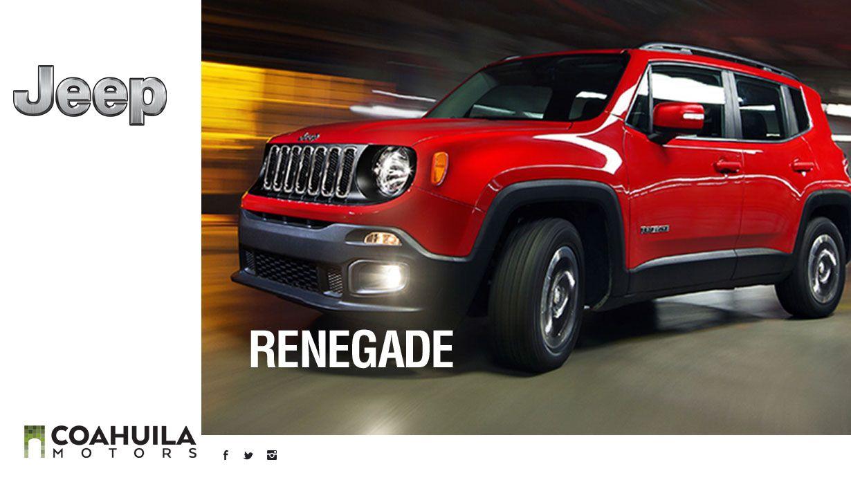 Herencia inigualable. Ven y conoce la nueva Jeep Renegade y vive tu proxima gran aventura a bordo del nuevo integrante de la familia Jeep.