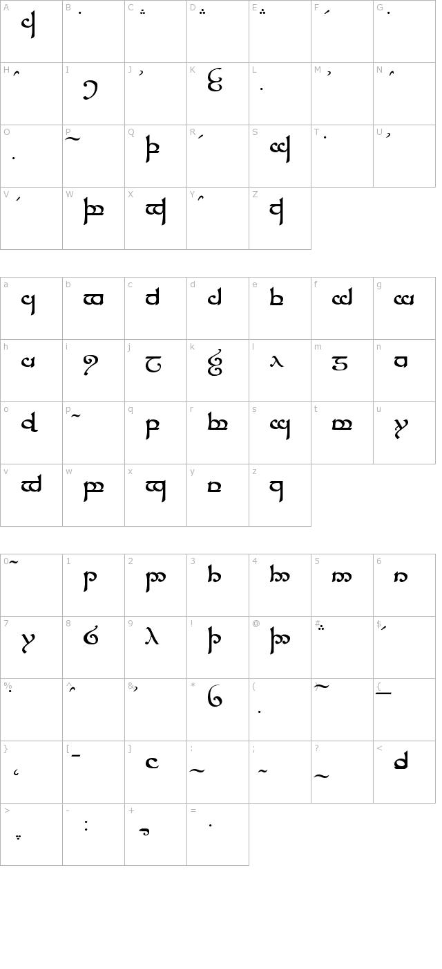 Tengwar Sindarin Free Font Download Free Fonts Download Download Fonts Free Font