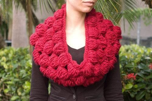 Bubble Cowl #crochet #pattern #diy #