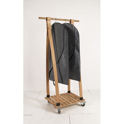 60cm Wide Clothes Rack Cover Symple Stuff With Images Garment