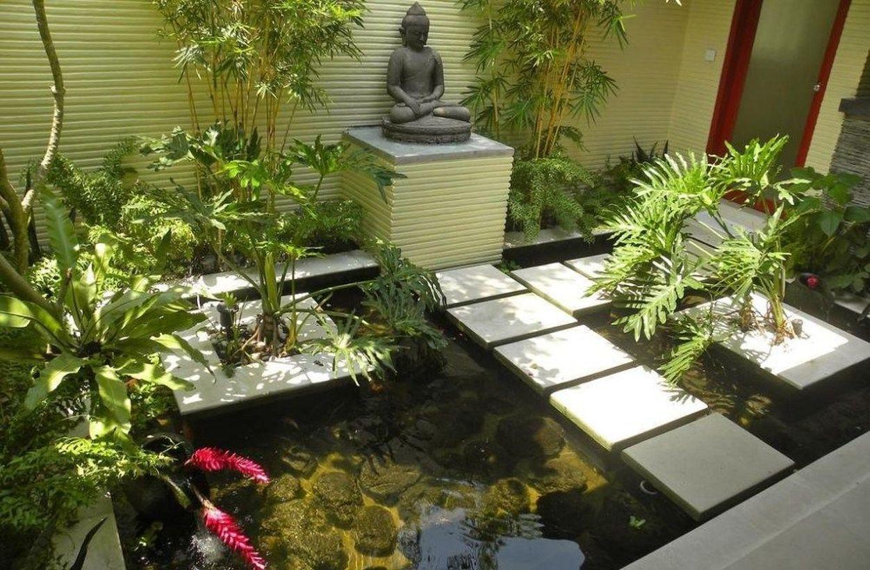 51 Worthy Indoor Fish Pond Ideas To Add Some Nature Impression Into Your Home Talkdecor Fish Ponds Backyard Koi Pond Design Pond Design