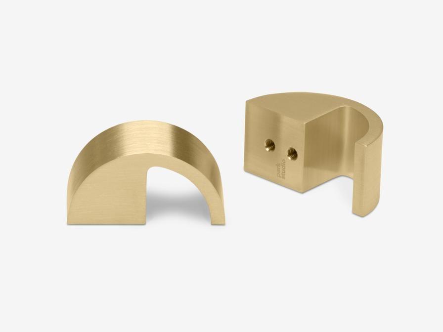 Sutter brushed brass — Park Studio