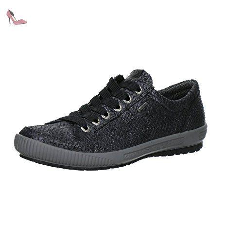 Legero Mira - Sneakers Basses - Femme Gris (Lavagna 98) 38.5 EU