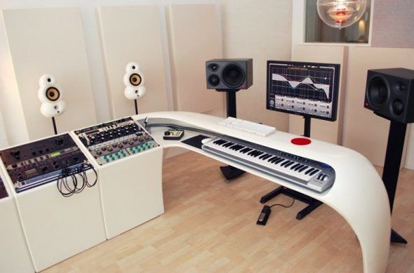 Music Studio Desk Diy