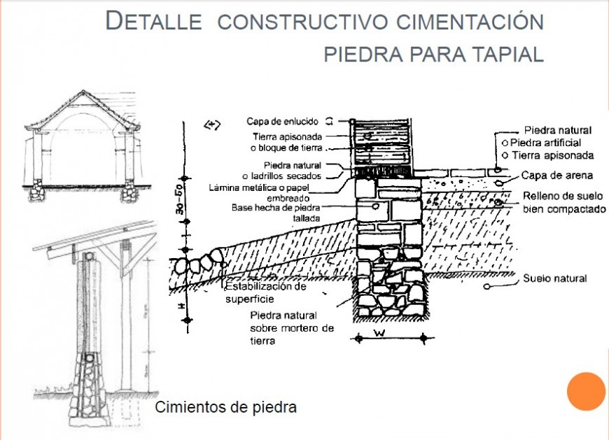 Detail Constructive Foundation Drawing Of The House In Pdf File Detailed Drawings Construction Reinforcement