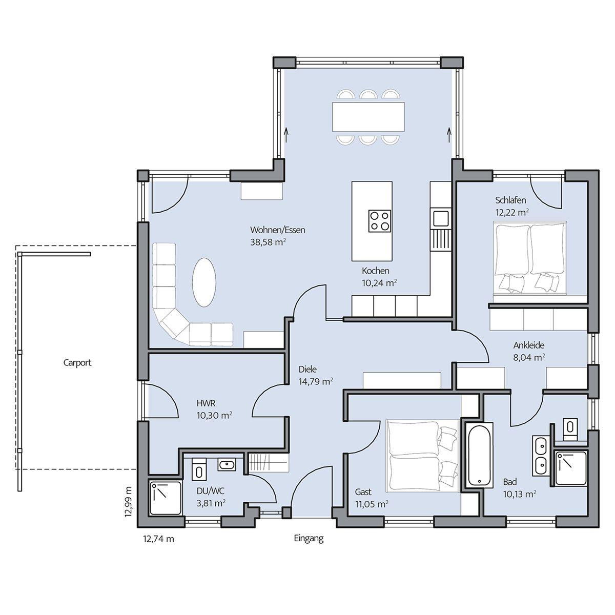 Haus-Riedel_Grundriss_EG_bemasst_col16-hg.jpg (1200×1200 ...