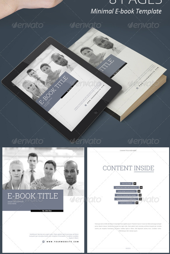 Colorful Ebook Templates Collection - Resume Ideas - dospilas.info