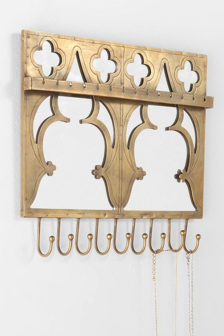 Jewelry Holder Wall Magical Thinking Mirrored Jewelry Holder Wall Hook Urban