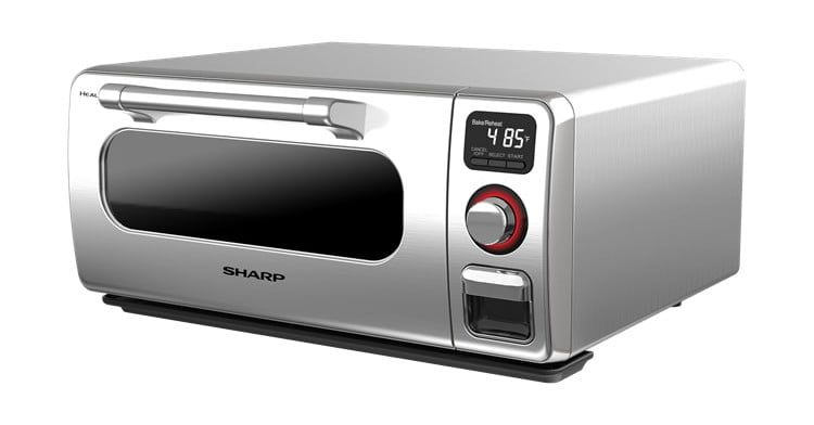 Sharp S New Countertop Cooker Uses Superheated Steam Countertop