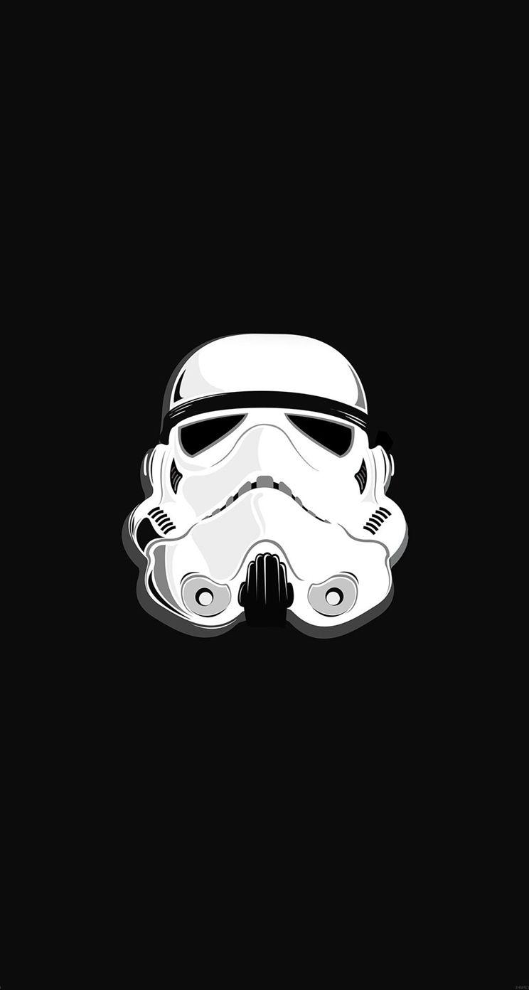 star wars stormtrooper illustration iphone 5s wallpaper download
