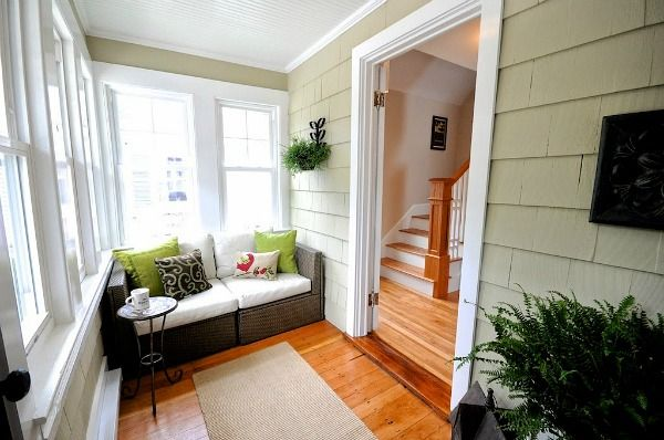 A Craftsman Style Bungalow Makeover In Maine By Sopo Cottage Porch Remodel Front Porch Remodel Bungalow Porch