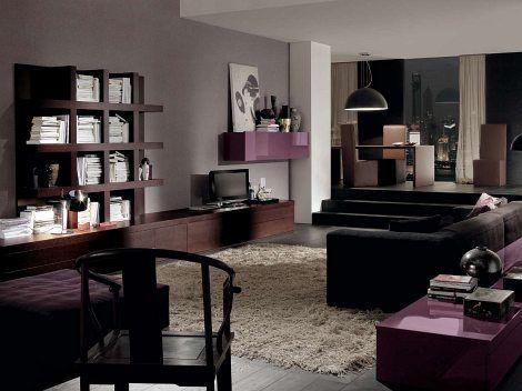 Living Room Design Dark Furniture - Euskal.Net