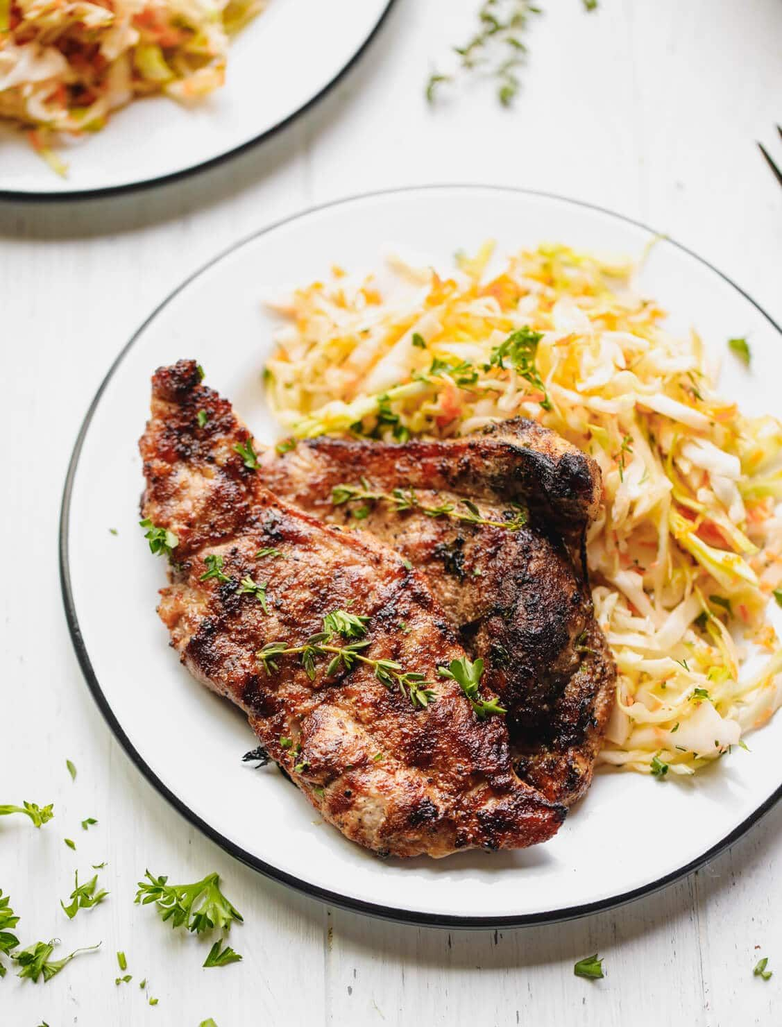 How to cook pork shoulder steak simple and delicious