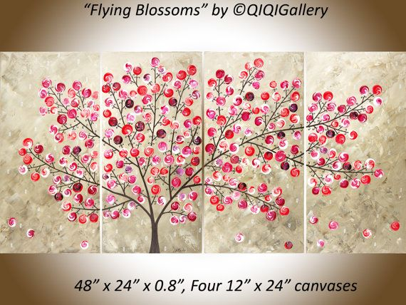 wall paintings for office. original acrylic painting modern wall art abstract by qiqigallery paintings for office v